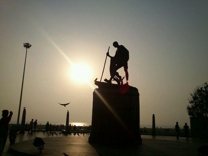 Marina Beach in Chennai, Tamil Nādu