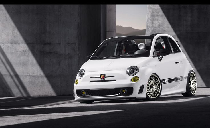 abarth 500 cabrio in japan racing wheels stance low. Black Bedroom Furniture Sets. Home Design Ideas