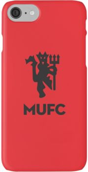 Manchester United Minimal Logo iPhone 7 Cases