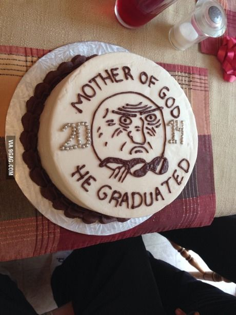 My brother's graduation cake