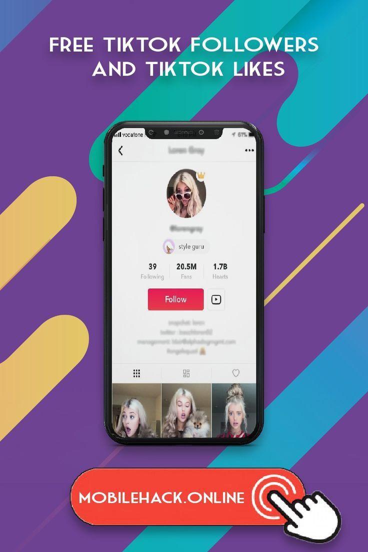Free Tiktok Followers And Likes Heart App Free Followers How To Get Followers