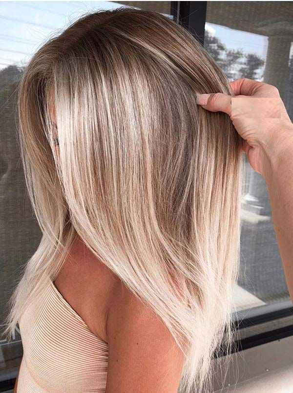 Stylish Balayage Hair Colors for Dark Roots to Try in 2019