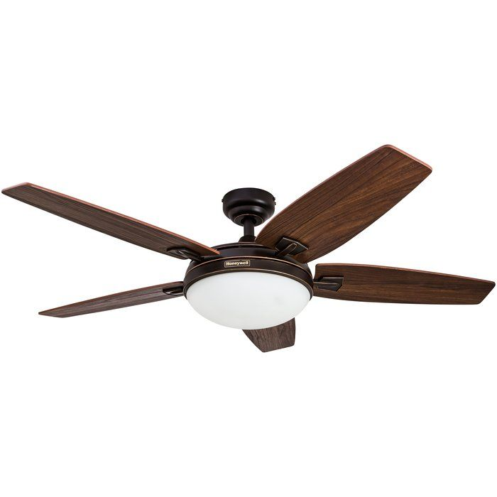48 Chilhowee 1 Light Bowl Ceiling Fan Light Kit With Remote Bronze Ceiling Fan Ceiling Fan Fan Light Kits