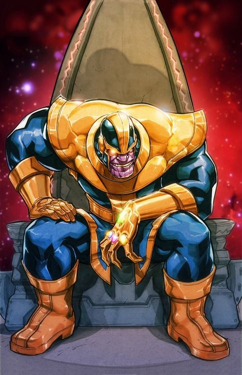 Thanos by Eddie Nunez