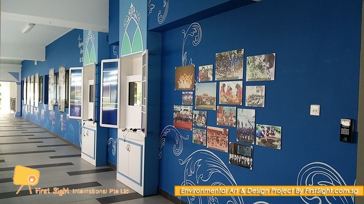 Heritage Gallery @ CHIJ St Nicholas Singapore by First Sight International. To view more, visit www.firstsight.com.sg #interior #renovation #heritage #gallery #school #MOE #chij