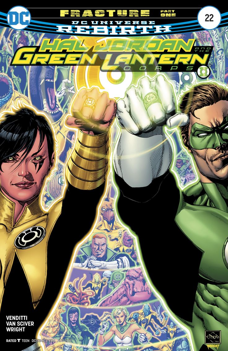 Hal Jordan and the Green Lantern Corps (2016) Issue #22