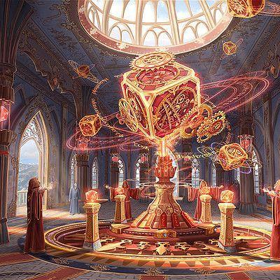 Magical shrine, minjeong kim on ArtStation at www….