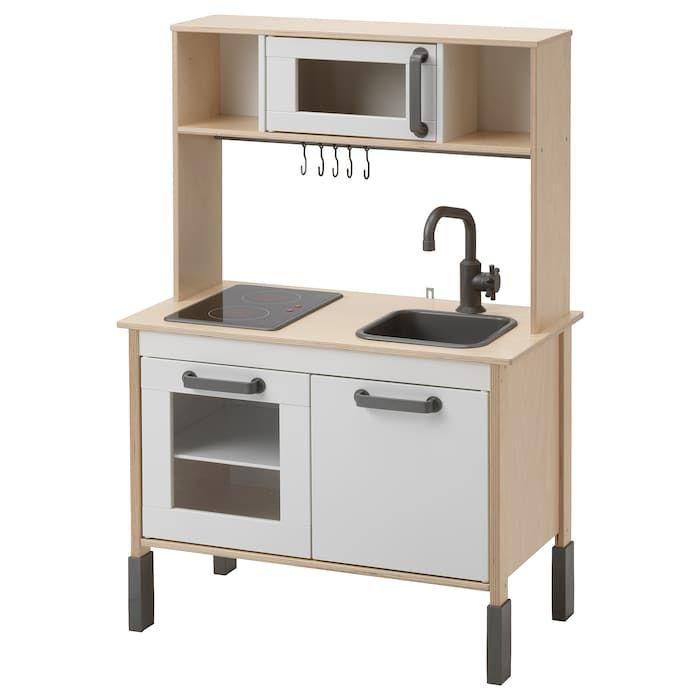 Duktig Minicuisine Bouleau 72x40x109cm Magasinez Chez Ikea Ikea Play Kitchen Ikea Play Kitchen Modern Kitchen