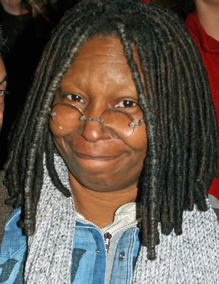 Whoopie Goldberg - intelligent and very funny.