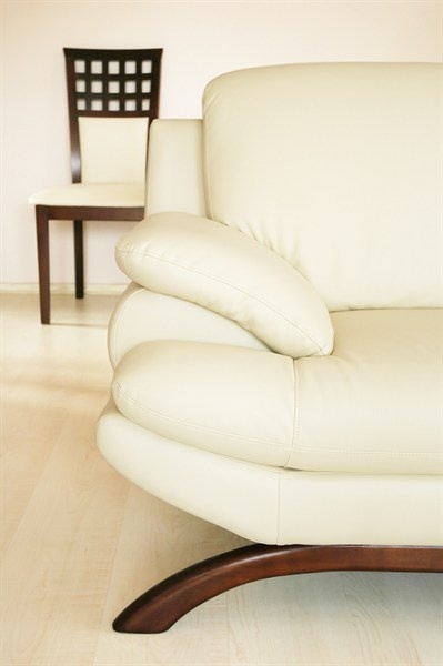 Shannon Lush shares her method for naturally cleaning and polishing a stained leather lounge.