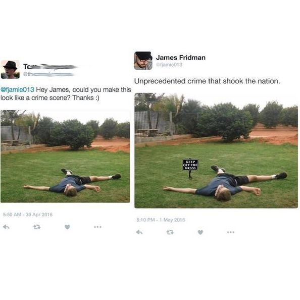 Epic Photoshop Trolls From The Legendary James Fridman