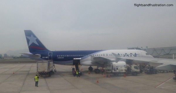 LAN Airlines Review of flying economy class across South America.