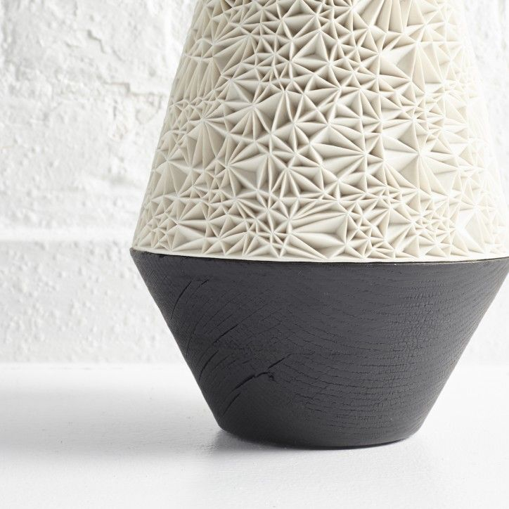 CMF we like / Vase/ Contrast / Wood / 3D / at Albrecht Durer Vessel by Leah Jensen | The New Craftsmen