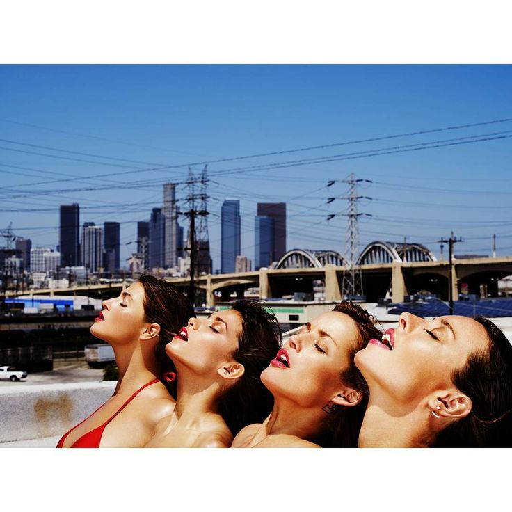 LA girls @whosroxy @ilikefrecklesandflaws @iamsarahdumont @visionlosangeles  From my LA story series shot in #DTLA makeup by @desertdebs hair by @jenb_hair #californiagirls #californiadreaming #rooftop #picoftheday #TKarchive #upontheroof #visionmodels #visionLA #LA #downtown #summerfeeling