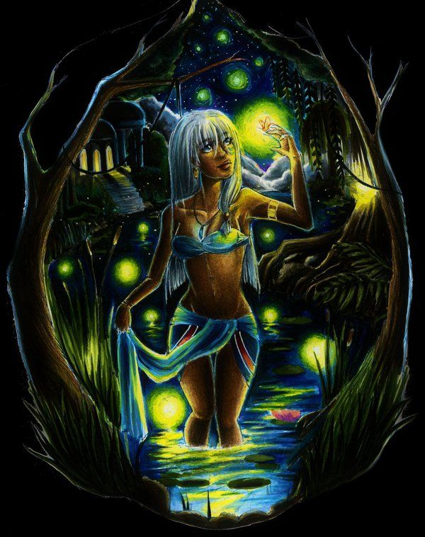 Princess Kida by MelissARTworks.deviantart.com on @deviantART