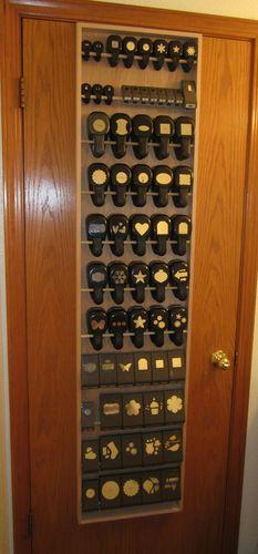 11pd NEW Paper Punch Storage Organizer Rack for Stampin Up Martha Stewart Punche   eBay