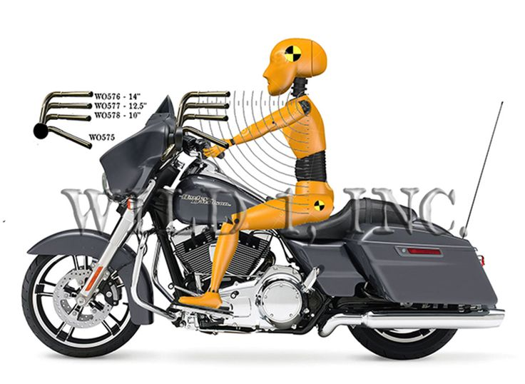 Harley Bagger Handlebars.