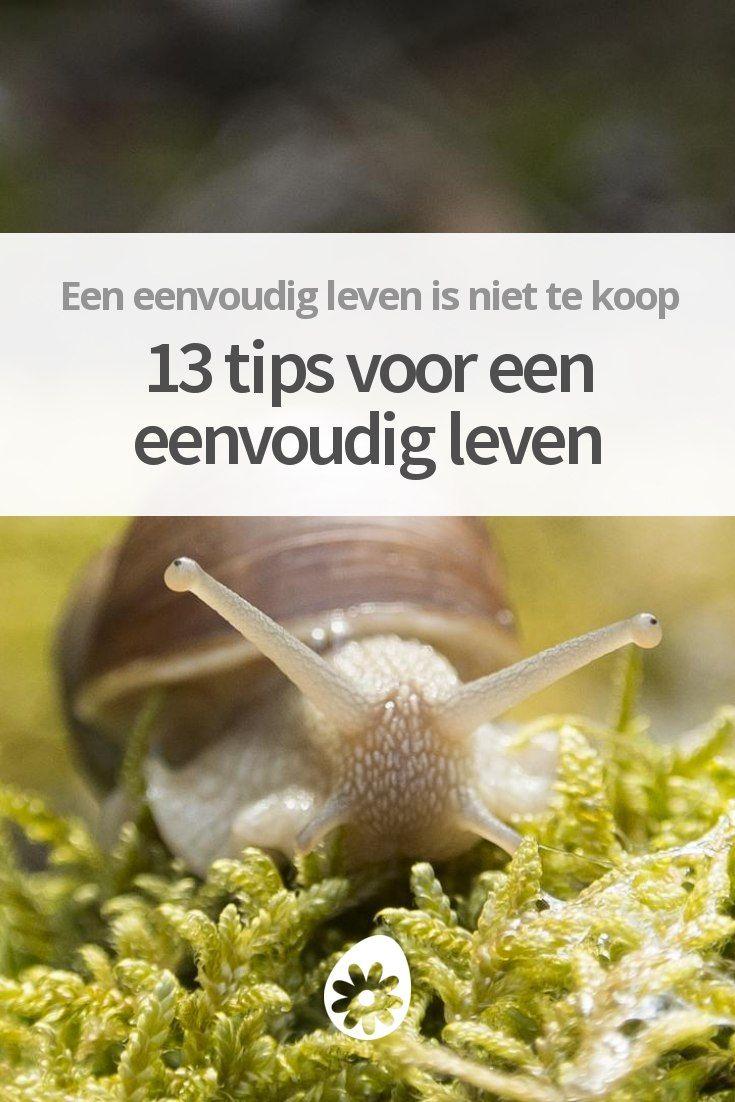 13 tips voor een eenvoudig leven