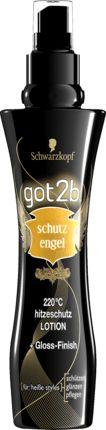 Himmlisch pflegend: Die got2b Hitzeschutz Lotion Schutzengel 220°C bewahrt das Haar vor Hitzeschäden durch Föhn, Glätt-, Krepp- oder Welleisen – mit bis zu...
