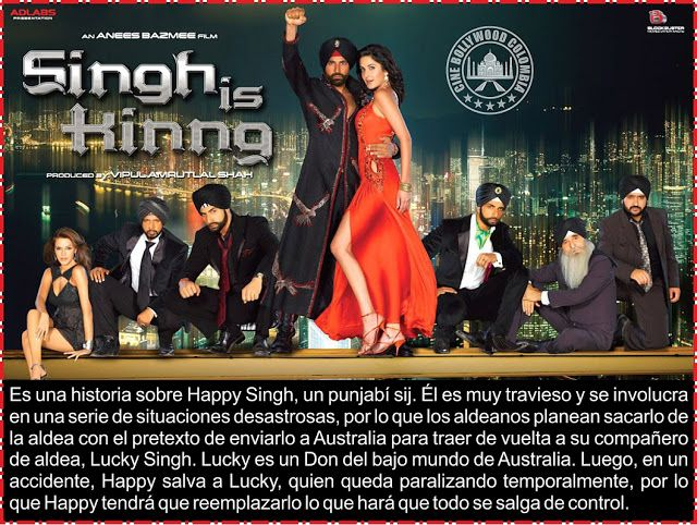 Cine Bollywood Colombia: SINGH IS KINNG