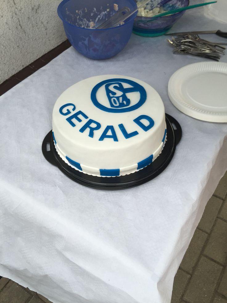 Fondant Cake Schalke 04