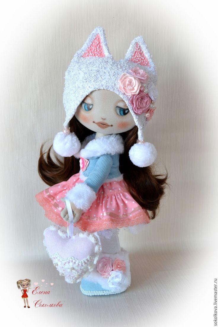 Купить Элечка (по мотивам Катеньки) - кукла, кукла ручной работы, куколка в подарок