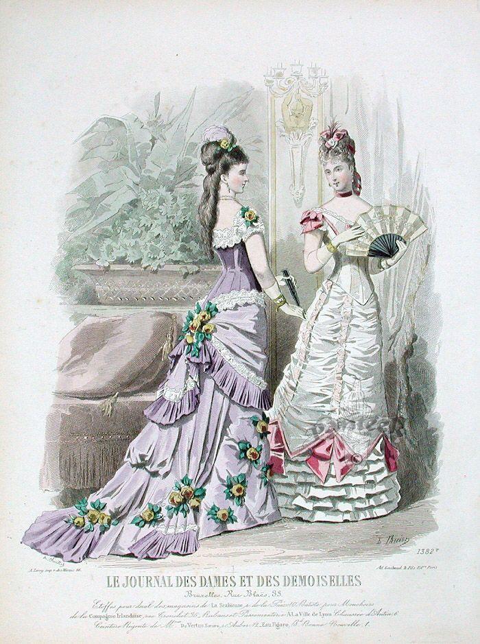 Late 1870s, Journal Des Dames et Des Demoiselles