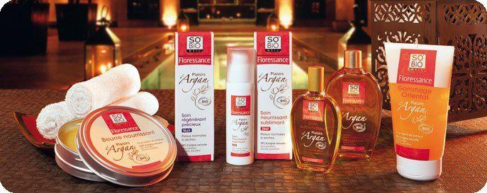 kosmetyki naturalne z olejkiem arganowym