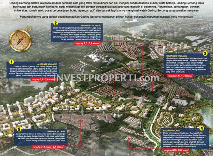 Master Plan Kavling Super PI Paramount Land