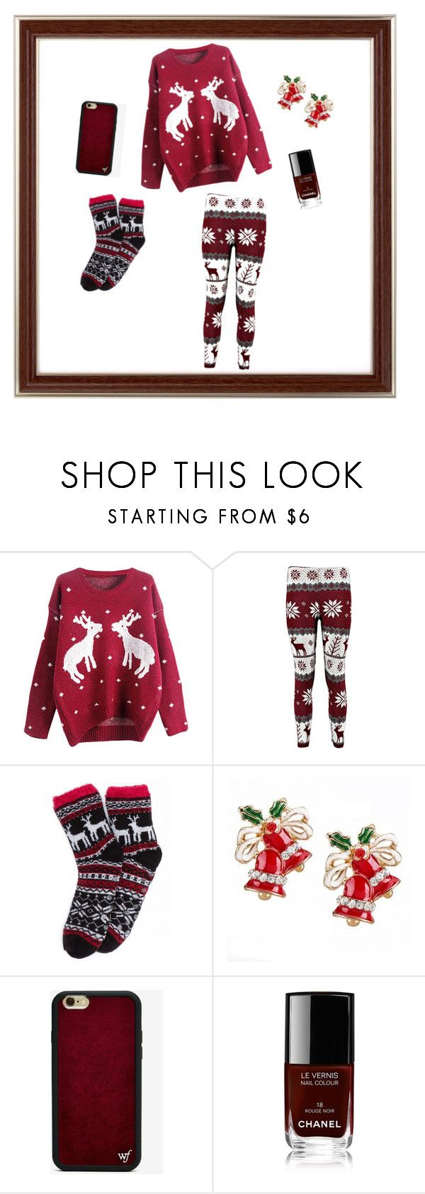 For those Christmas Days by sostudd on Polyvore featuring Wildflower and Chanel