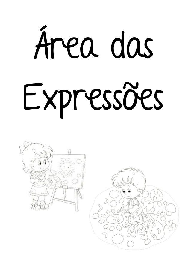 Áreas Jardim de Infância Colorir