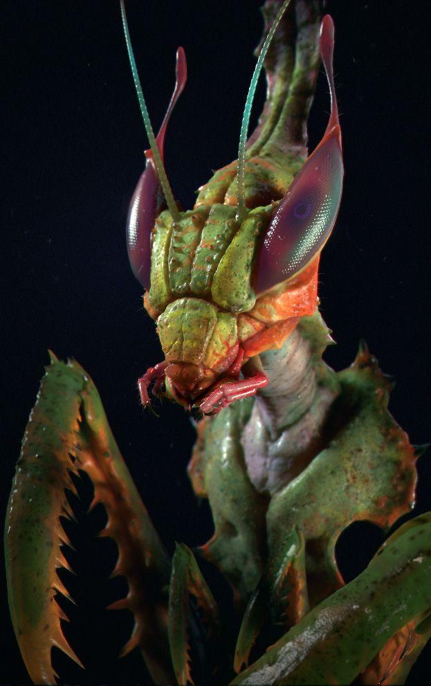 Mantis by Time2Time - Pour une idée de casque, de visage, de design intéressante