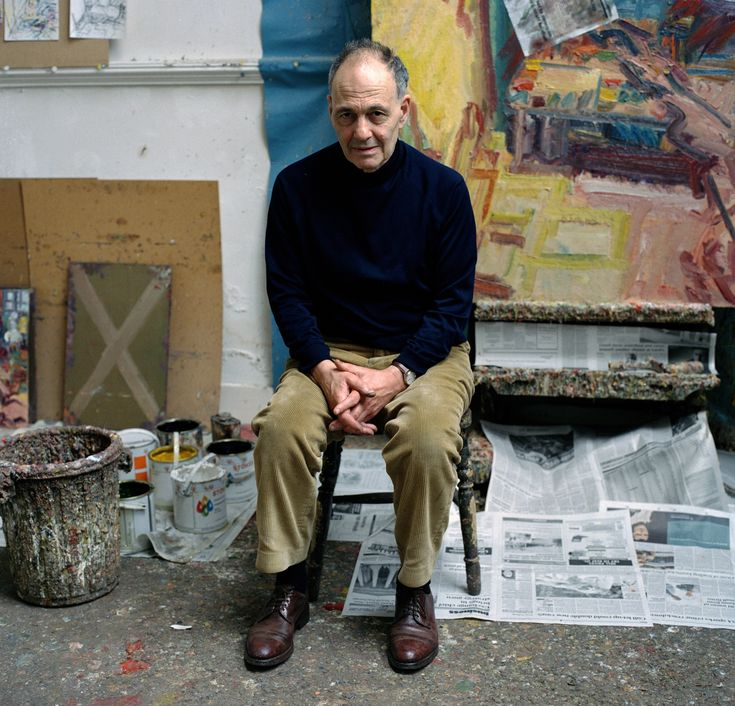 Frank Auerbach: 'Painting is the most marvellous activity humans have invented'