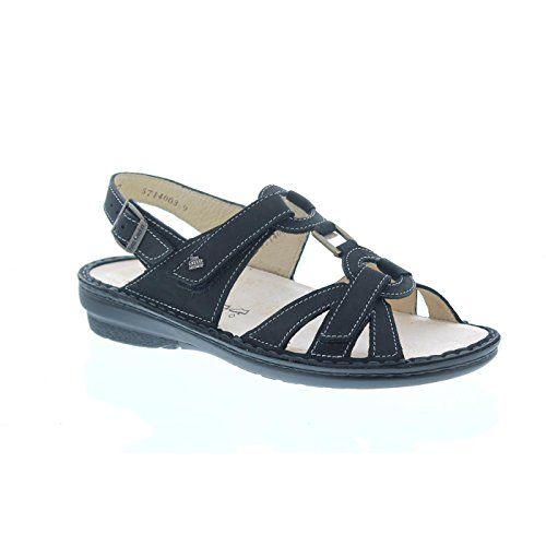 Finn Comfort Timor-S, Nubukleder (Buggy), schwarz, Weichbettung 82801-046099 - http://on-line-kaufen.de/finn-comfort/finn-comfort-timor-s-nubukleder-buggy-schwarz