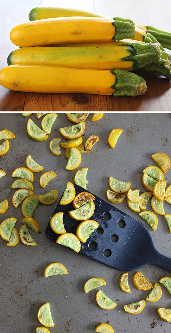 Roasted Yellow Squash -- LOVE squash