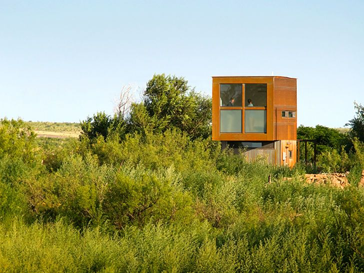 Designed by Candid Rogers as a retreat for thoughtful repose, the tiny home embraces the site...  Read more