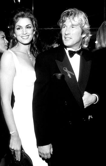 """1993: Richard Gere und Cindy Crawford --- """"Sexiest Couple Alive"""""""