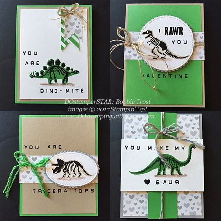 Stampin' Up! DOstamper STARS Friday Feature cards shared by Dawn Olchefske #dostamping (Bobbie Trost)