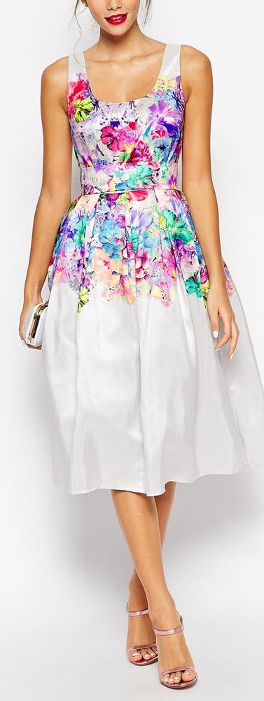 floral full midi dress--I NEED this in my life now!!!!
