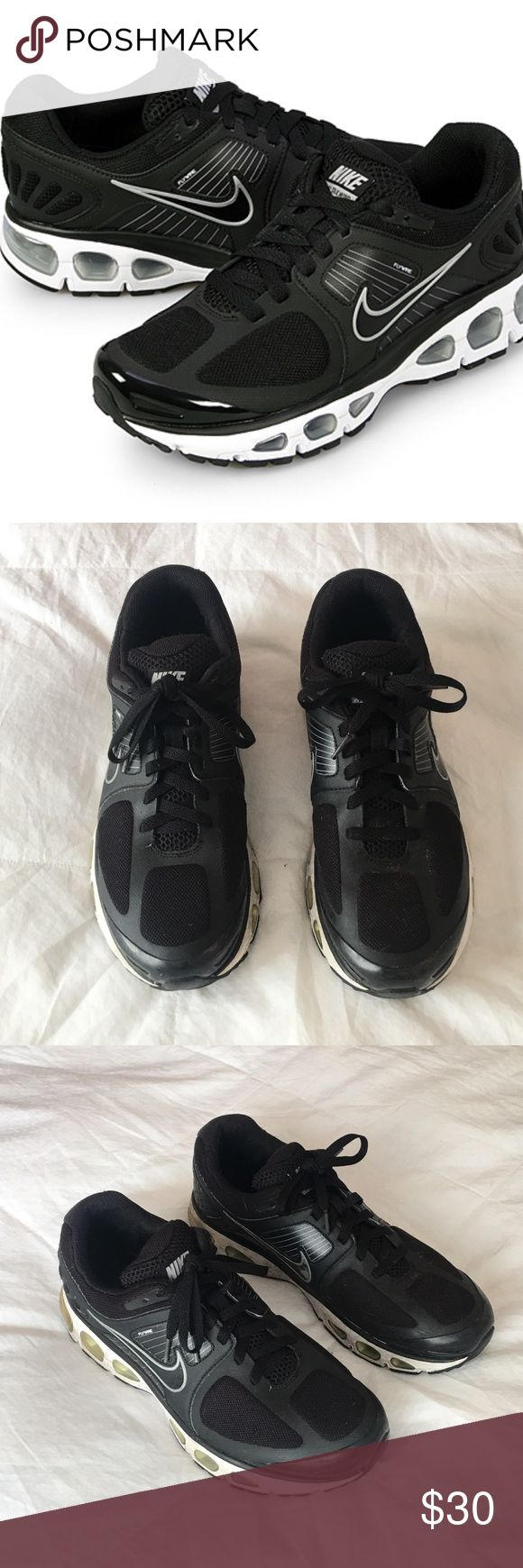 Nike Air Tailwind Running Shoes Black Size 11 Nike Air Tailwind Running Shoes. Black and White. Size 11. Slightly worn with normal wear and tear. Nike Shoes Athletic Shoes