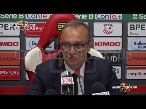 CARPI FROSINONE INTERVISTA 0-0 INTERVISTA A MISTER MARINO - CARPI FC 1909