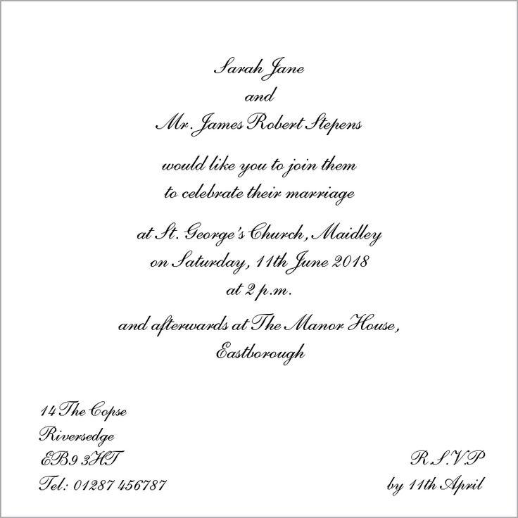 Verona Navy Wedding Invitation - Olivia Samuel