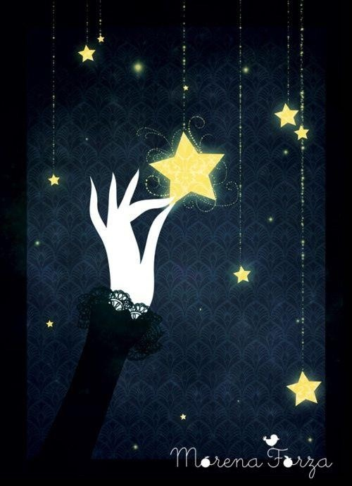 To Make Your Logo (and Business) Sparkle, Reach for the Star | Holiday-inspired lessons in visual branding | Graphic by Morena Forza http://www.morenaforza.com/