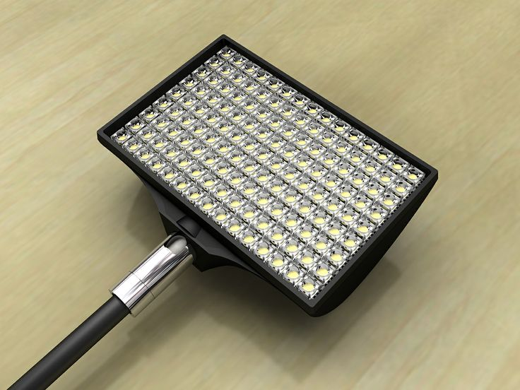 Example of LED fixtures
