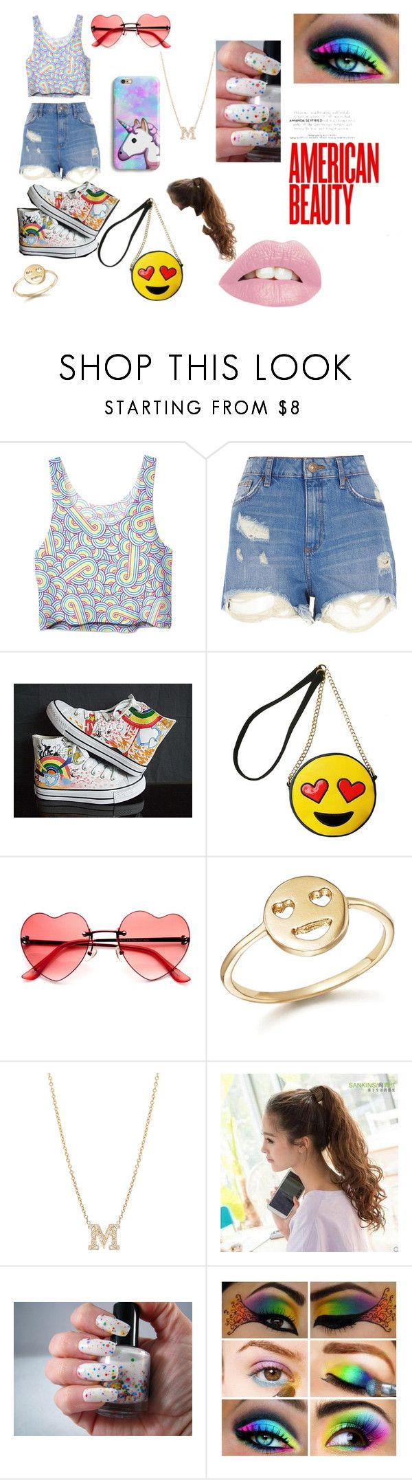 """""""Madison"""" by lauren-paul-sets ❤ liked on Polyvore featuring River Island, HVBAO, Olivia Miller and Bing Bang"""