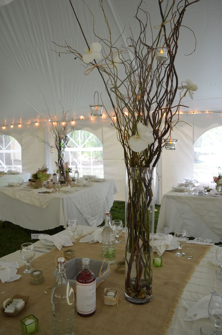 Best ideas about stick centerpieces on pinterest diy