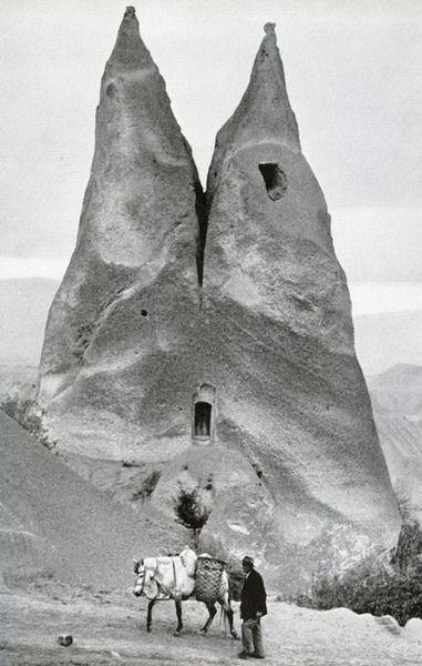 Marc Riboud, Cappadocia, near Urgup, 1955