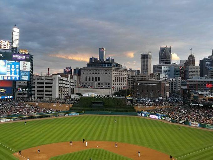 A Tour of Detroit's Baseball Stadiums Past & Present