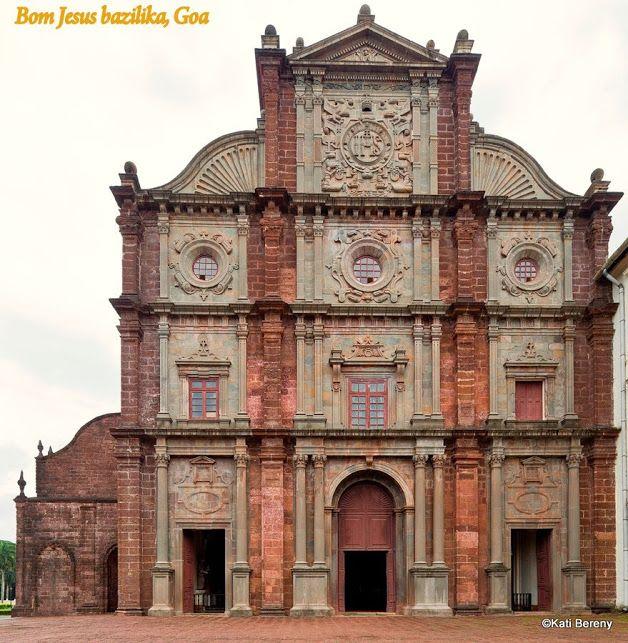 Bom Jesus Basilica, Goa, India