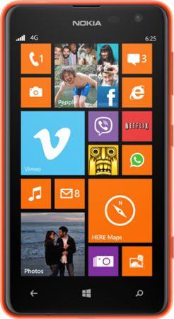 Nokia Lumia 625 Phone Can Only 12/20
